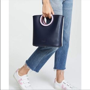 🌸NEW Kate Spade Betty Blue White Bucket Tote